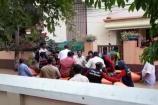വെള്ളപൊക്കം:വി എം സുധീരനെയും കുടുംബത്തെയും മാറ്റിപ്പാർപ്പിച്ചു