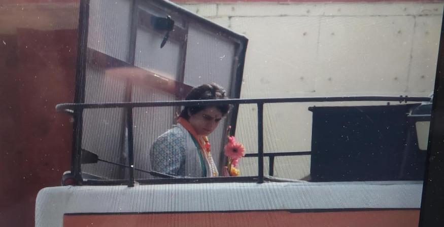നാല് ദിവസത്തെ പരിപാടികൾക്കായാണ് പ്രിയങ്ക യുപി യിൽ എത്തിയത്