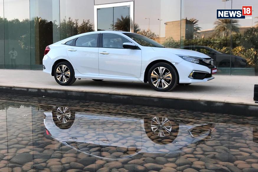 Honda Civic. (Image: Abhinav Jakhar/ News18.com)