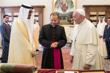 ഫ്രാൻസിസ് മാർപാപ്പ ആദ്യമായി UAEലേക്ക്