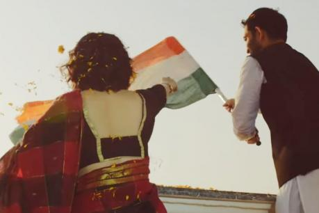 തിയറ്ററുകളെ ഇളക്കിമറിക്കാൻ 'രാഗ'; രാഹുൽ ഗാന്ധിയുടെ സിനിമ