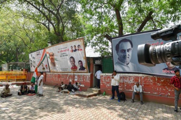 Lok Sabha Election Results 2019: ആളൊഴിഞ്ഞ് ആരവമൊഴിഞ്ഞ് കോൺഗ്രസ് ഓഫീസ്